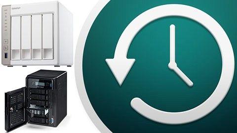 Time Machine på NAS
