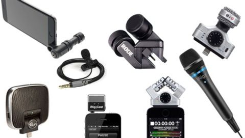 Åtta mikrofoner