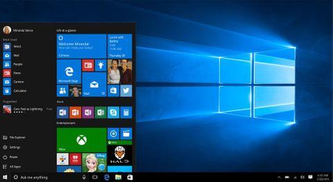 Windows inställningar