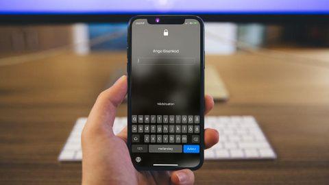 Glömt lösenkod på Iphone eller Ipad
