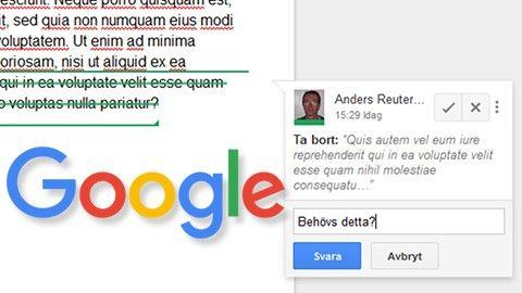 Allt Om Google Dokument - Google dokument
