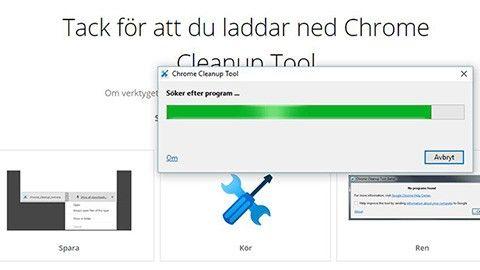 Gratisverktyget när Chrome krånglar