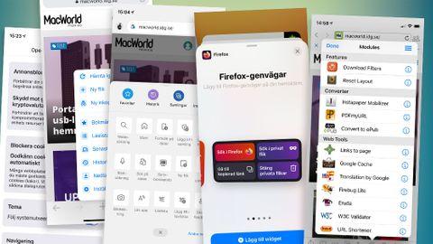 Bästa webbläsaren för Iphone