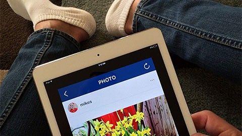 Instagram täpper till