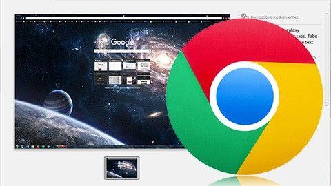 Snygga till Google Chrome