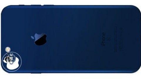 Mörkblå Iphone