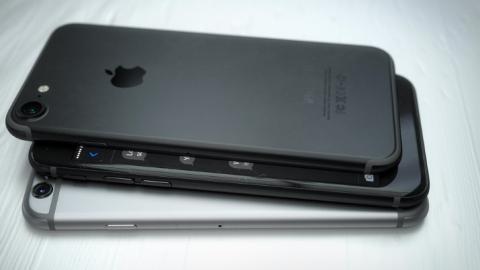 Rymdsvart Iphone