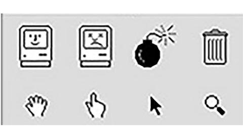 Gamla Mac-ikoner