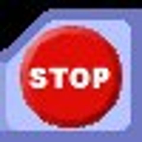 Stop-knapp