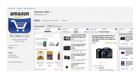 Amazon jagar kunder.