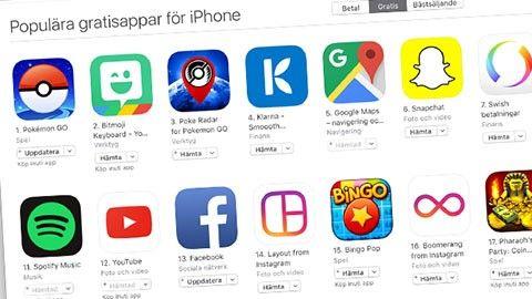 Pokémon Go på App Store