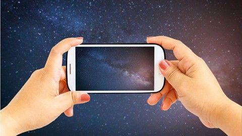 Gör mobilen till en stjärnkarta