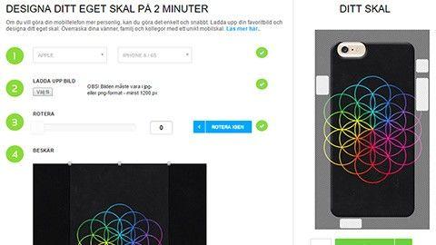 Shoppingtipset: Designa ditt eget mobilskal