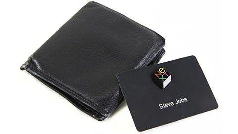 Steve Jobs gamla plånbok