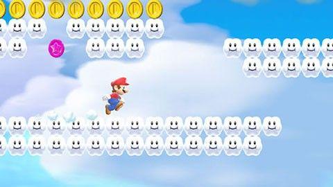 Super Mario på Iphone