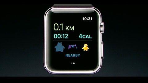 Pokémon Go på Apple Watch