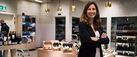 Charlotte Hansson, CFO på Systembolaget