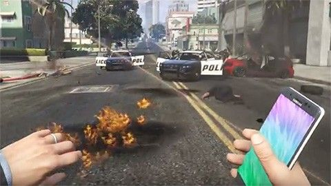 Note 7 Grand Theft Auto