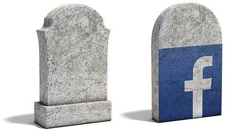Facebook efter döden
