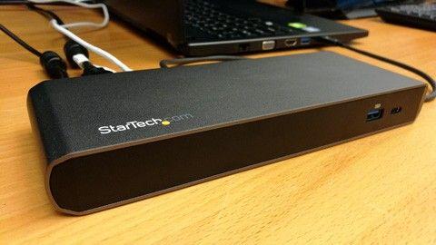 Startech TB3DK2DPWUE