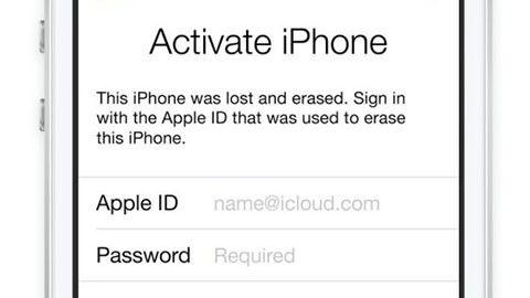 Iphone aktiveringslås