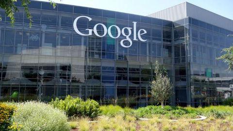 husfasad med google-logga