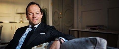 Magnus Karlberg CFO på Grand Hôtel