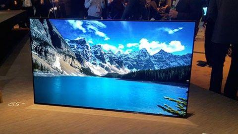 Sonys nya oled-tv