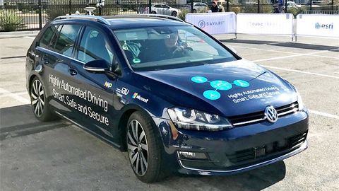 Microsoft smarta bilar
