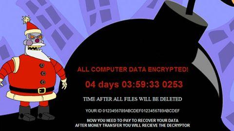 Merry X-mas ransomware
