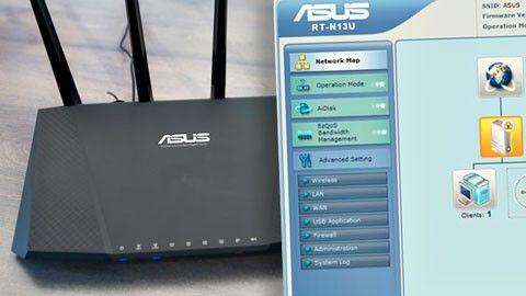 Asus router login