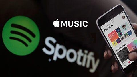 Spotify och Apple Music