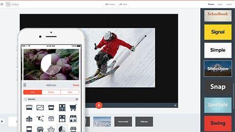 Fixa vintervideon med Adobe Spark