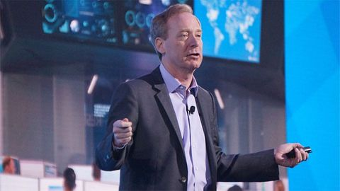 Microsofts styrelseordförande Brad Smith