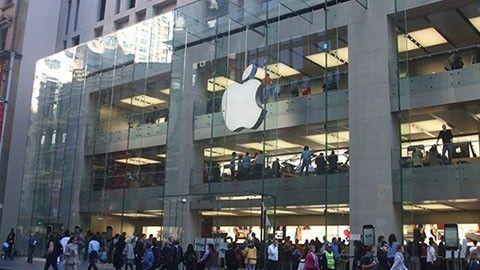 Apples butik i Sydney
