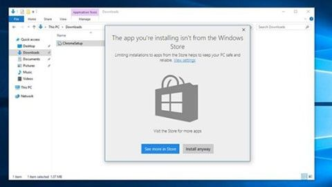Bara Windows Store-program