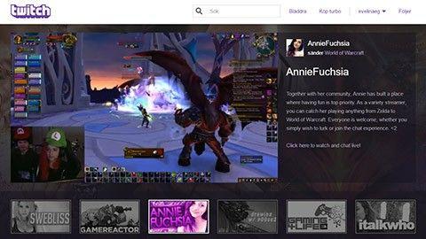 Kom igång med Twitch