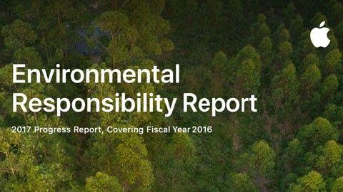 Apples miljörapport 2017