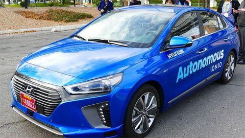 Hyundai självkörande bil