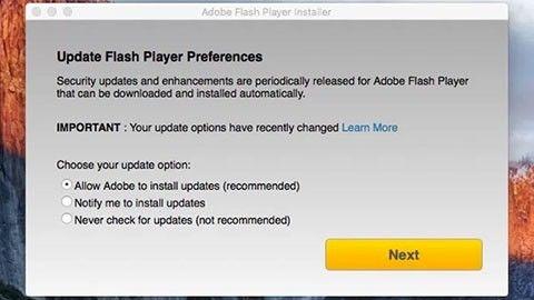Skadeprogram lurar in sig via Flash Player