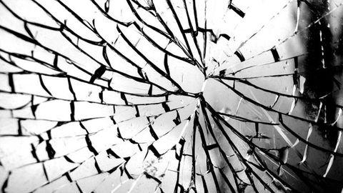 Krossat glas