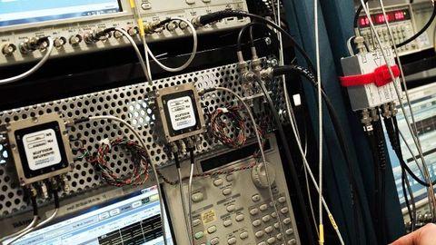 Kvantdator i labbet