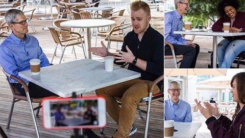 Tim Cook intervjuad om tillgänglighet