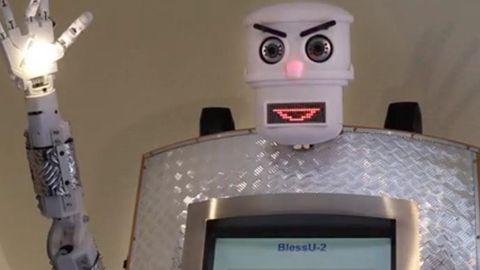 Robotprästen BlessU-2