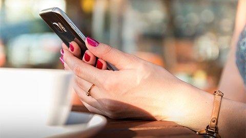 Håll mobilen upplåst – när du är hemma