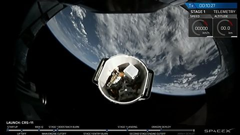 Spacex Dragon CRS-11