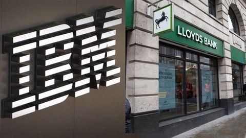 Lloyds Bank och IBM.