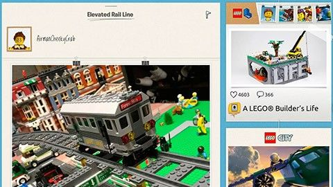 Kör lego i mobilen