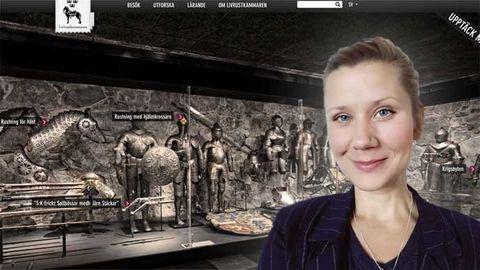 Emma Reimfelt, webbstrateg och projektledare på Livrustkammaren