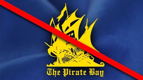 The Pirate Bay blockerad